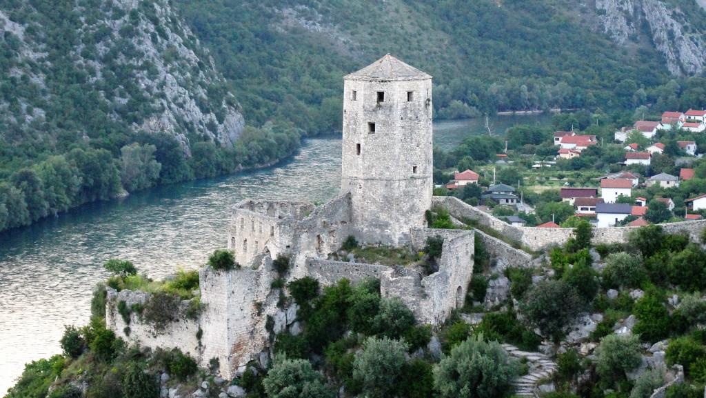 Ruine in Bosnien