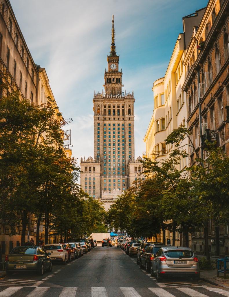 Strasse in Polen