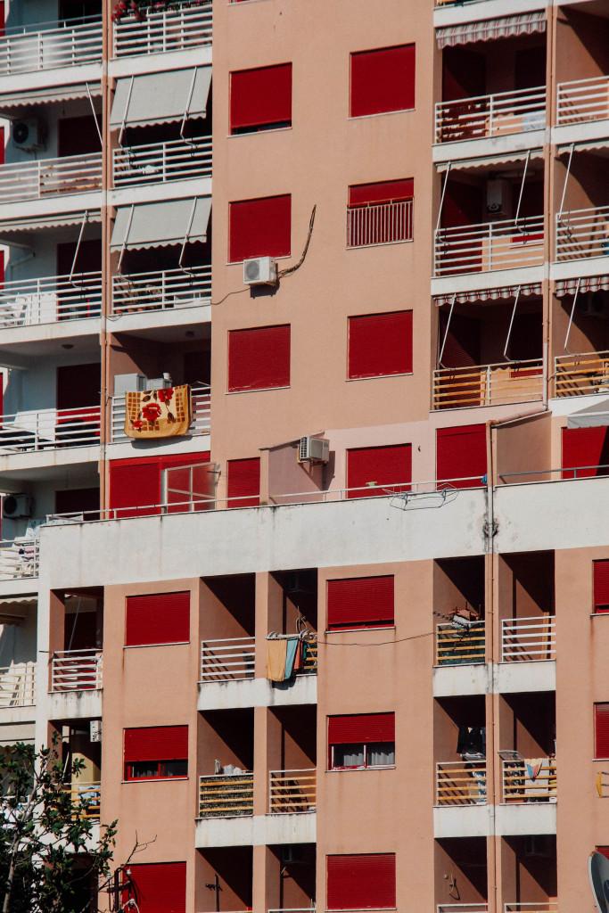 Haus mit Balkone