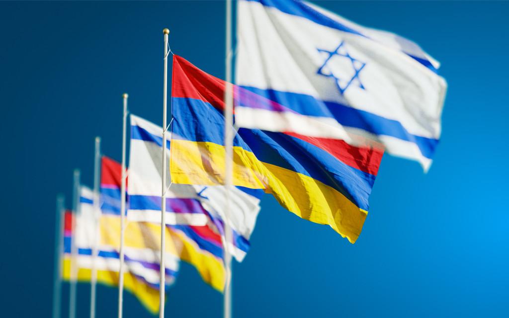 Flaggen im Wind