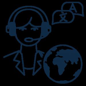 Übersetzungsagentur ALLESPRACHEN spricht alle Sprachen
