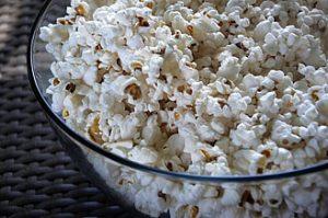 Popcorn zum Filmschauen