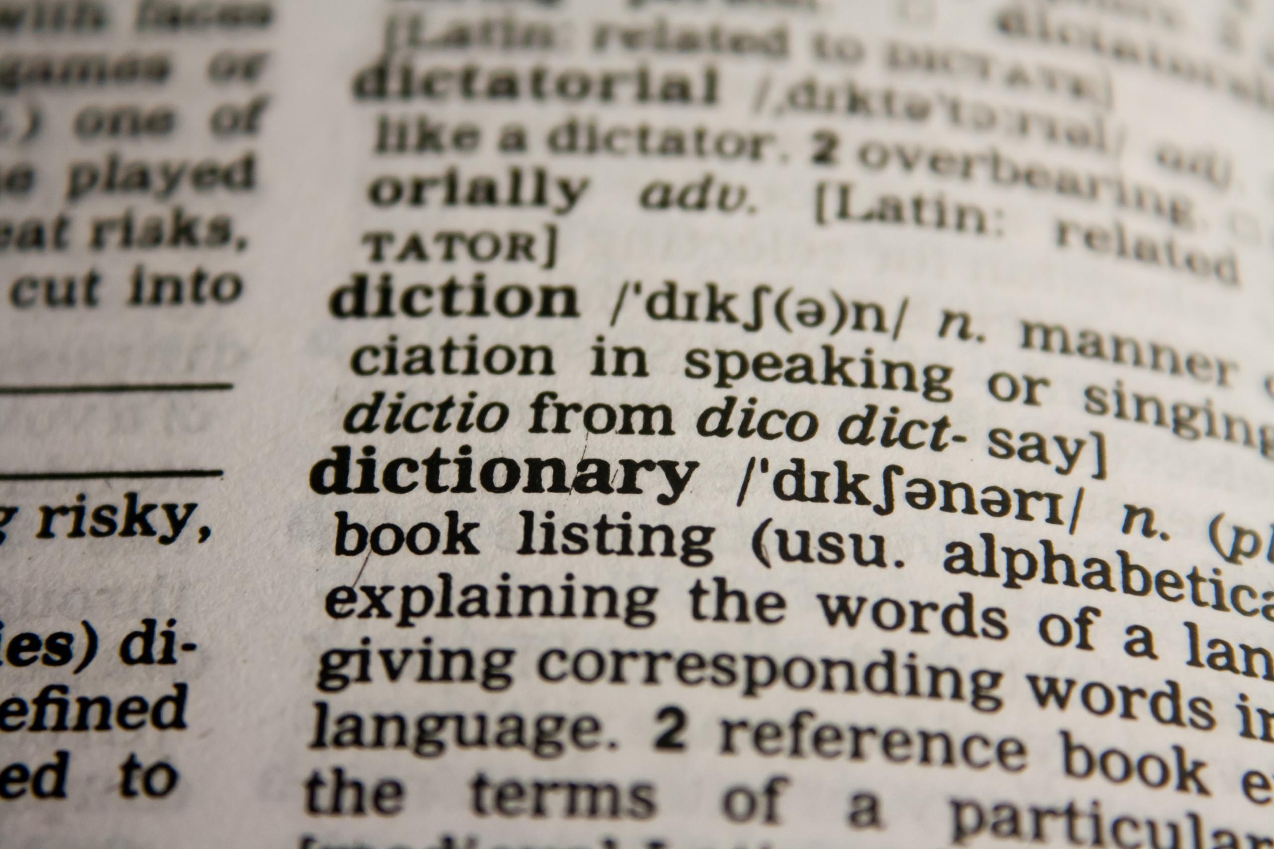 Englisch Wörterbuch